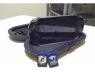 Playstation Vita (viene Con 2 Juegos) Más Estuche