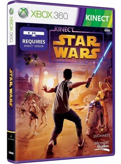 Jogo Star Wars Xbox360 Kinect Mídia Física/lacrado