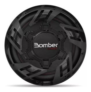 Subwoofer 12 Pulgada Bomber Carbon 250w 4 Ohms Bobina Simple