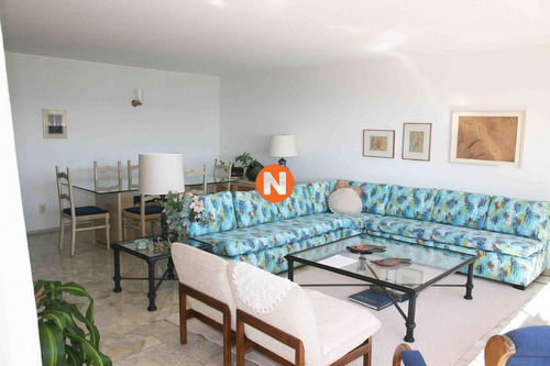 Apartamento En Venta Y Alquiler, Mansa, Punta Del Este, 3 Dormitorios.- Ref: 200985