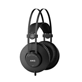Fone Ouvido Akg K52 Over - Ear Profissional Kadu Som Full