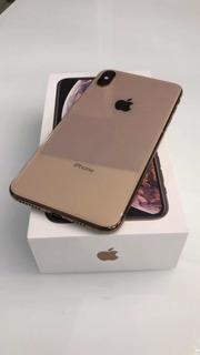 iPhone Xs Max Dourado 64gb Na Garantia Até 18/05/2020