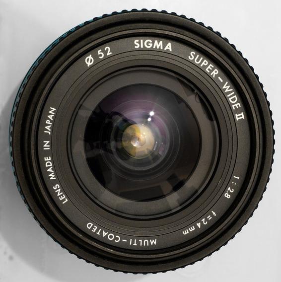 Minolta ( Sigma ) - 24mm F2.8 Af - Full Frame - Bom Estado