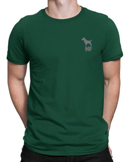 Remera Bull Terrier Hf ® Verde 100% Serigrafia