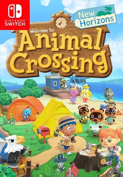 Animal Crossing New Horizons Switch Novidade Envio Já