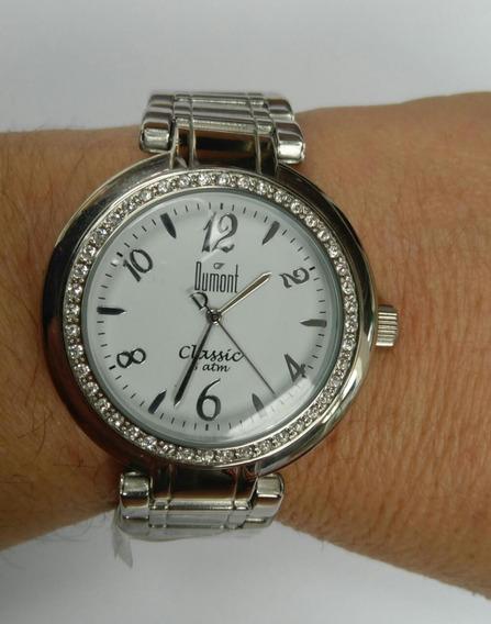 Relógio Feminino Dumont Classic Sw250738 Analógico