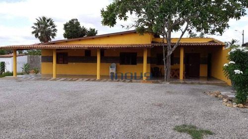 Imagem 1 de 16 de Chácara Com 3 Dormitórios À Venda, 2204 M² Por R$ 380.000 - Jarí - Maracanaú/ce - Ch0005