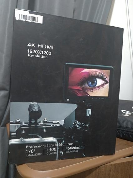 Monitor Dslr Lcd Andoer 4k Para Canon Sony Nikon Tela 7