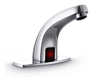 Llave Automática Con Sensor Lavabo Mezcladora Baño Grifo