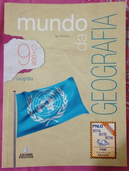 Livro Mundo Da Geografia - 9º Ano - ( Usado )