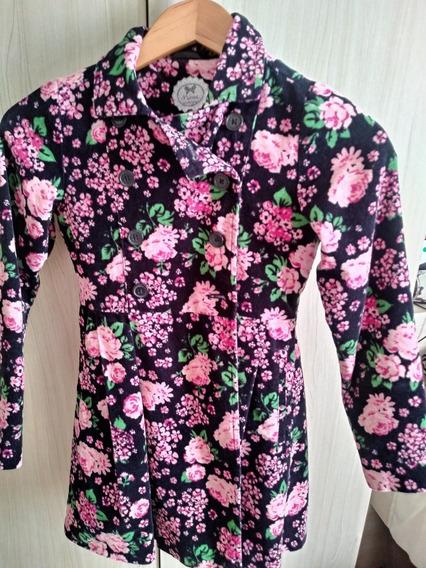 Casaco Floral Malwee Tam.10