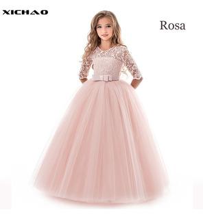 Vestido De Princesa Para Niña Niño Vestido De Manga Larga
