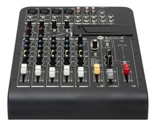 Rcf Lpad 8cxfx - Consola Mixer Audio 8 Canales Efectos Djs