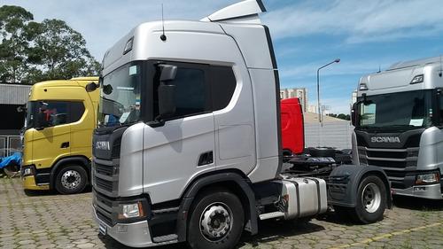 Scania Rh450 A4x2 - Ano 2019/2019 - Teto Alto