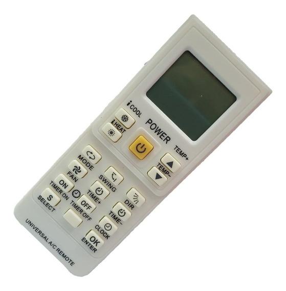 Controle Remoto Universal Ar Condicionado Kt-9018e Sky-7045