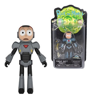 Figura Rick And Morty Purge Suit Morty Funko Los Germanes