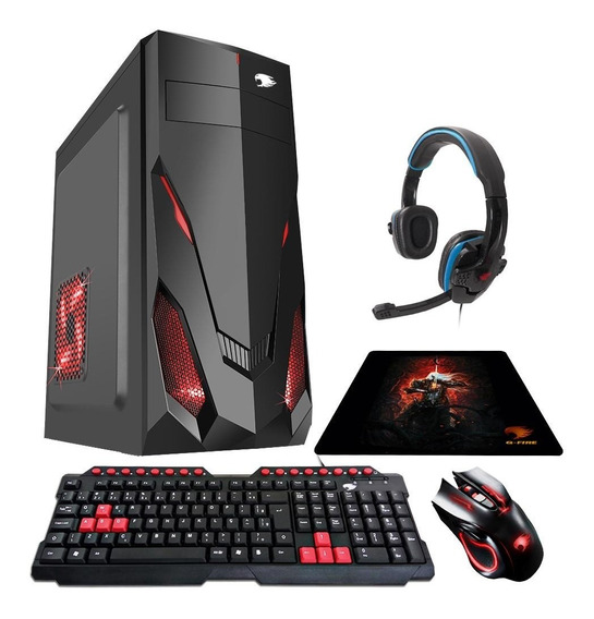 Pc Gamer G-fire Amd A6 7400k 8gb R5 2gb Integrada 500gb