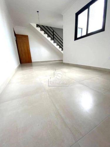 Cobertura À Venda, 86 M² Por R$ 289.350,00 - Jardim Utinga - Santo André/sp - Co10920