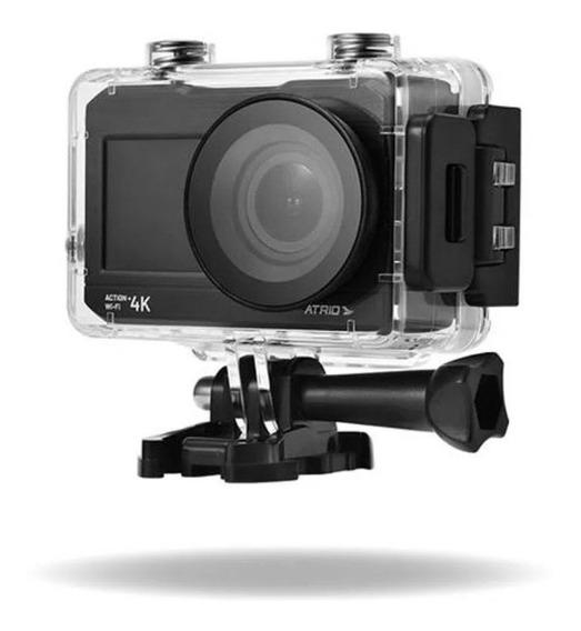 Câmera De Ação Action+selfie 4k Wifi Tela Lcd 2