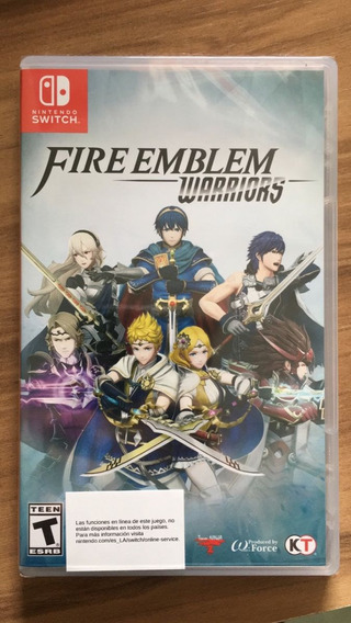 Jogo Fire Emblem Warriors - Switch - Produto Novo