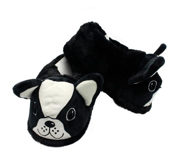 Pantufa Bulldog Francês Cachorrinho Tamanhos P. M. G