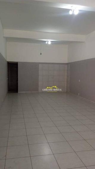 Salão Para Alugar, 50 M² Por R$ 1.000/mês - Morada Do Sol - Americana/sp - Sl0360