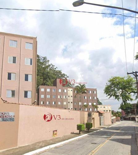 Imagem 1 de 11 de Apartamento Com 2 Dormitórios À Venda, 40 M² Por R$ 140.000 - Itaquera (zona Leste) - São Paulo/sp - Ap0413