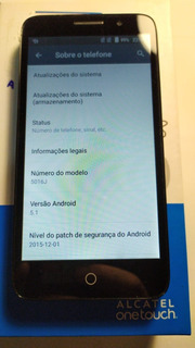 Celular Alcatel Pop 3 5.0pol.cinza Recondicionado 8gb 1gram