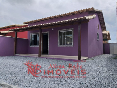 Linda Casa 2 Quartos Com Ótimo Terreno Em Unamar Cabo Frio