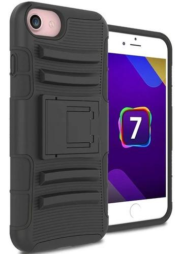 Protector Ultra Resistente iPhone 7 8 + Estuche Para Cinto ®