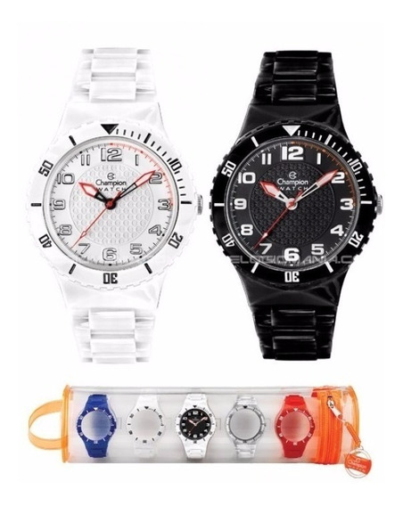 Relógio Champion Menor Troca Pulseiras Original Nf Frete Grá