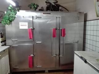 Heladera Carnicería Cámara Frío Acero 4 Puertas