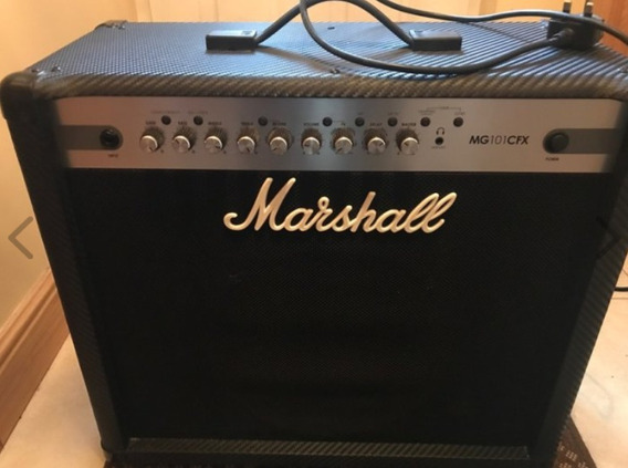 Marshall Mg101 Cfx Amplificador Guitarra 100w