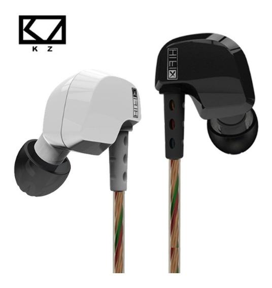 Fone Original Kz Hd9 Hifi Profissional Bass In Ear Retorno