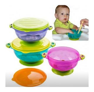 Bowl Con Sopapa, Asas Y Tapa X 3 Baby About Acrilico Piu