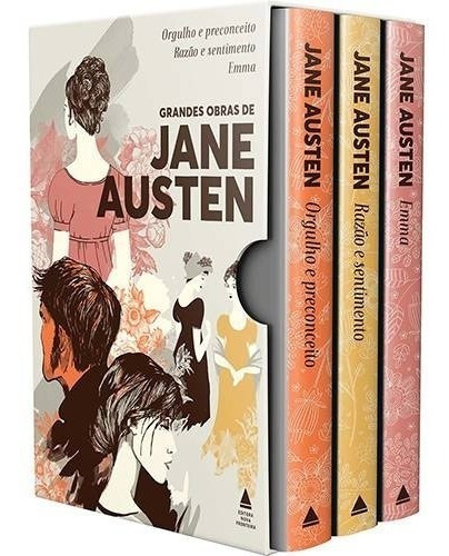 Box Grandes Obras De Jane Austen -brochura