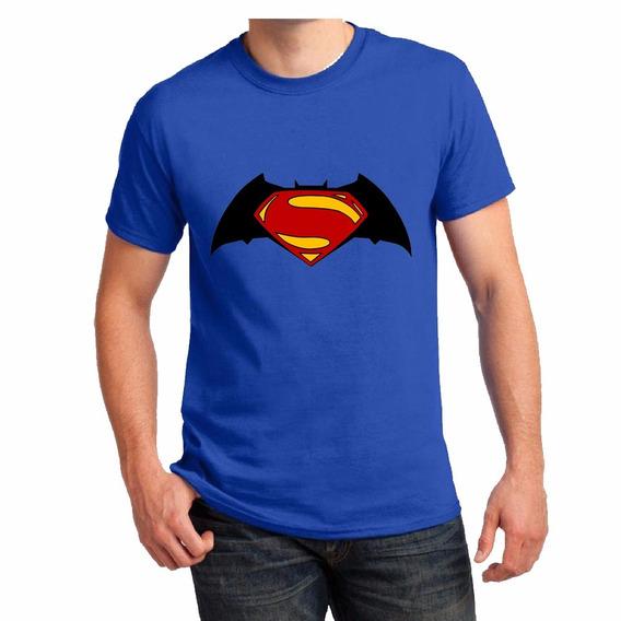 Remera Batman Vs Superman Pelicula Dc Series Comic Excelente
