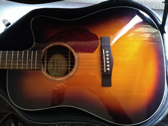 Guitarra Electroacustica Fender Cd140 Estuche Rigido