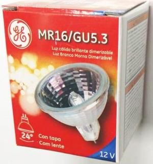 Lampara Mr16 Dicroica 50w 12v Gu5.3 General Electric Pack X10