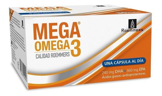 Mega Omega 3 Mg X 30 Cápsulas