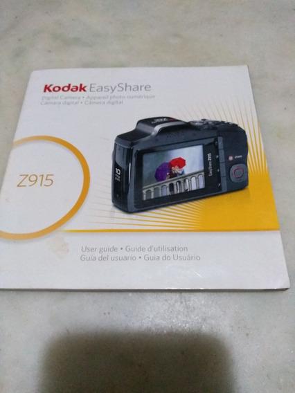 Manual Kodak Easyshare Z915