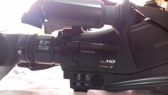 Filmadora Panasonic Ac-7 Semi-nova Com Todos Os Acessórios