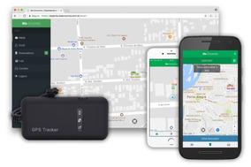 Rastreador Veicular Gps Tracker Com Suporte 24 Hrs