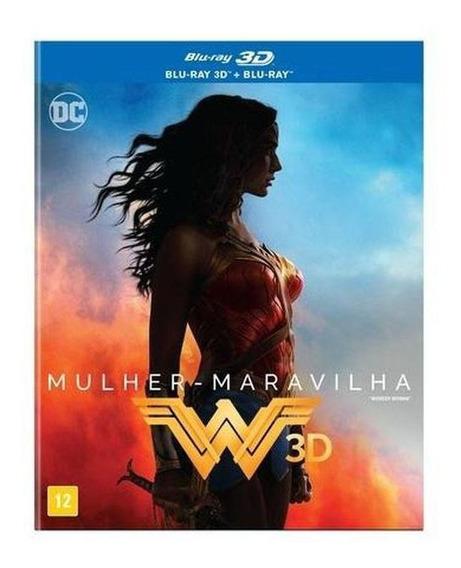 Mulher Maravilha Blu-ray 3d + Blu-ray