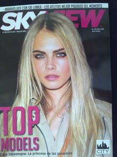 Revista Sky View Delevingne Bvsc Vicentico Sasha Benny Erik