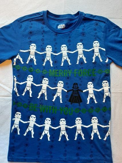 Playera Niño Star Wars Tallas 12, 14 Y 16 Años