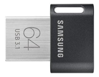 Memoria Usb 64 Gb Samsung Fit-plus 3.1 4k Uhd 300 Mb/s