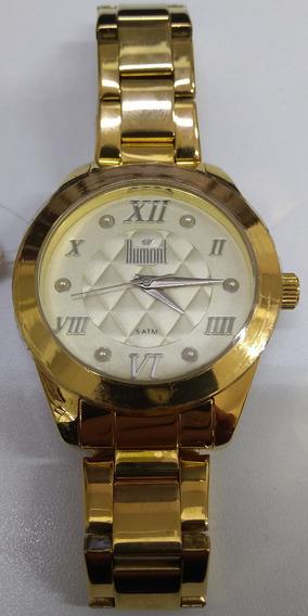 Relógio Dumont Feminino Du2035lnx/4d Lindo E Barato Original