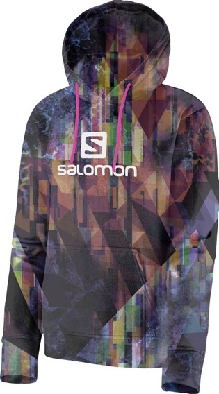 Blusa Feminina Salomon - Logo Graphic Hoodie W - Casual