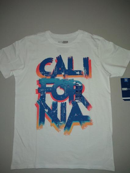 Playera Niño 725 Originals California Talla 12 Y 16